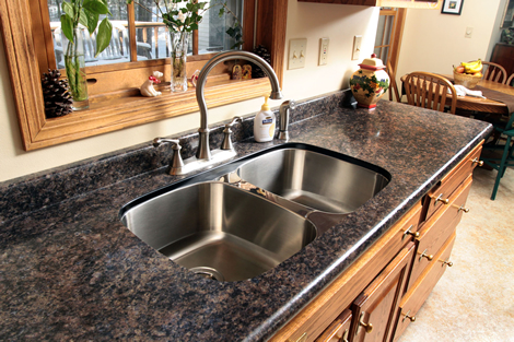 Undermount Kitchen Sinks Laminate