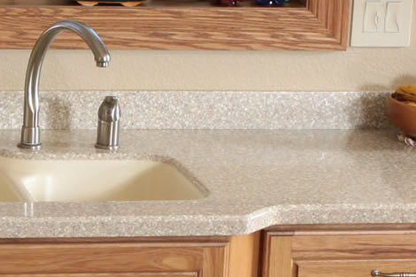 Quality countertops Solid surface counters